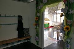 Garderobe + Eingang